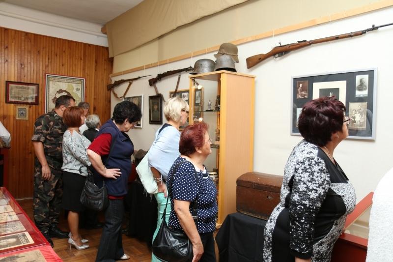 I. világháborús emlék kiállítás 2017.