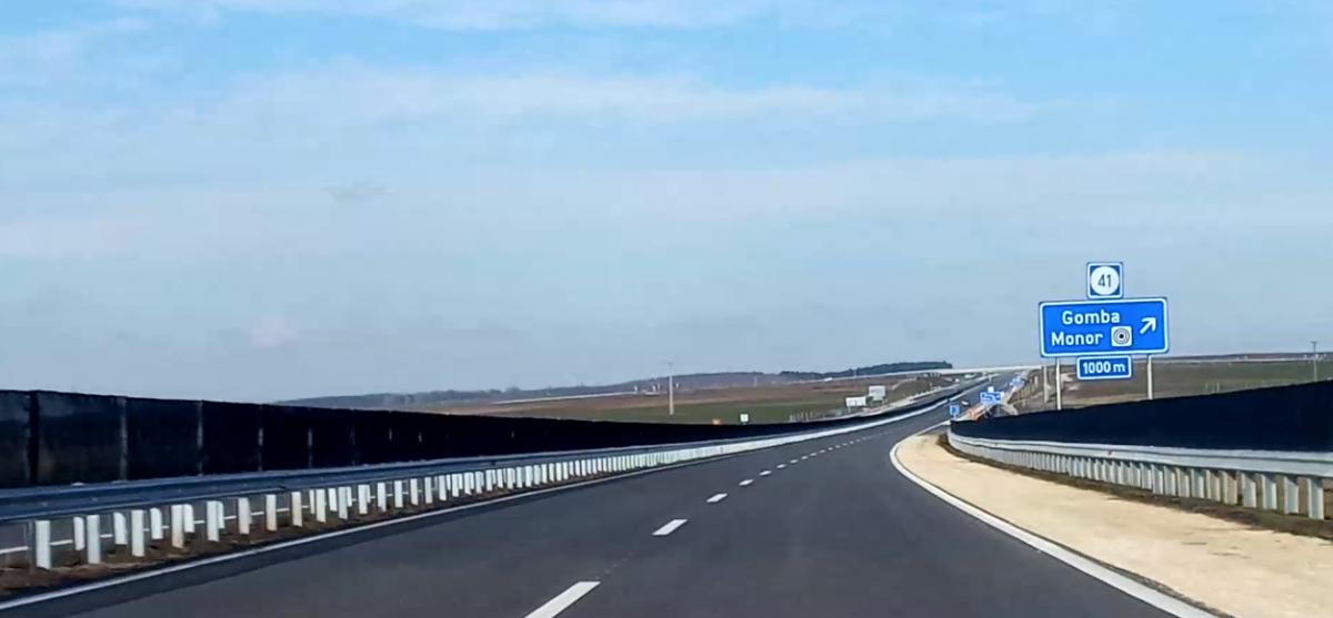 Javuló közúti elérés